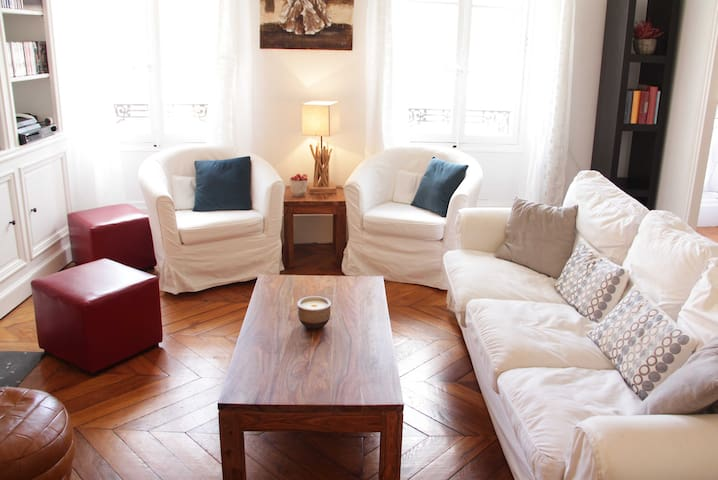Beautiful apartment in the center of Fontainebleau - Fontainebleau - Apartamento