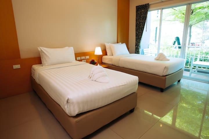 Superior Twin Bed Room 1@The Cavalli Casa Resort