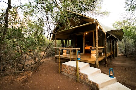 Bundox Safari Lodge - Tent with Shower 1