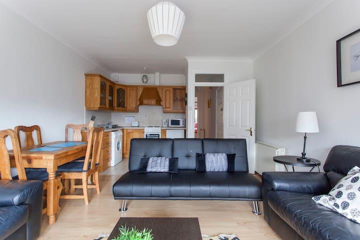 2 Bedroom apt near Christchurch & Temple Bar