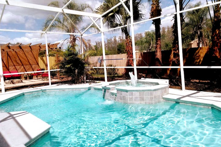 Private 2 bedroom Apartment in POOL home