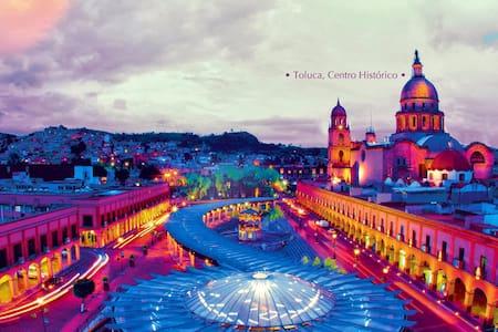 Habitación en Toluca, excelente ubicación - Toluca de Lerdo - อพาร์ทเมนท์
