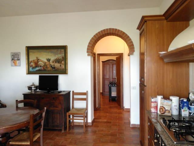 Comodo appartamento in agritutrismo/Saturnia