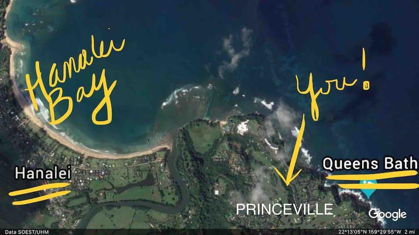 North Shore Kauai ~ Private Studio In Princeville