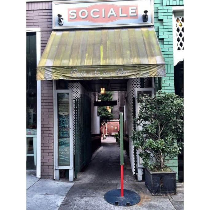 Фото места «Sociale» в районе Richmond District