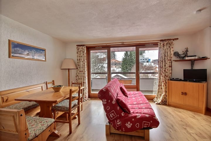dU¨PLEX APARTMENT WITH SWIMMING POOL ACCESS - SAINT JEAN D'AULPS SKI RESORT- 9 PEOPLE - DAILLE D10