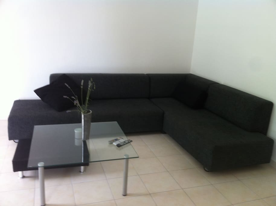 Lounge area - with TV, free cable (limited), DVD, safe.
