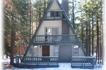 Heavenl Ski Cabin,hot tub,pooltable - South Lake Tahoe