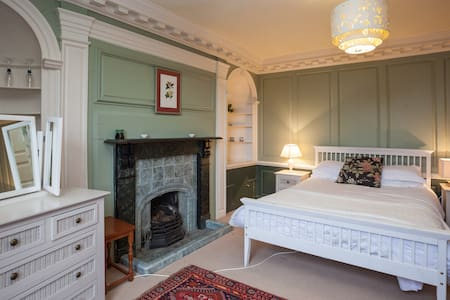 Meare Court, Old Somerset Farmhouse, sleeps max 14 - Casa
