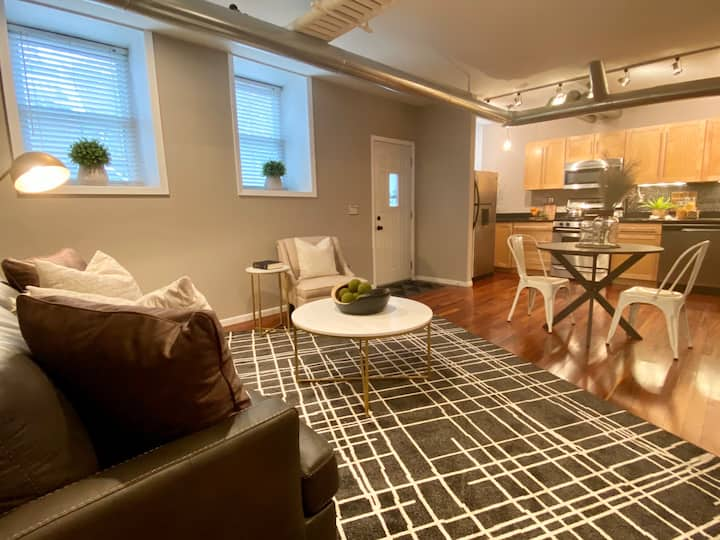 Mod 2 bd 2 ba Minneapolis Lakes Condo - Privacy!