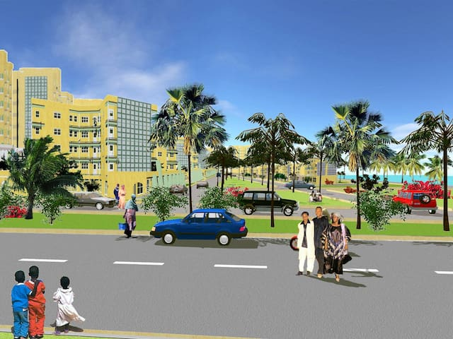TERANGA MEANS HOSPITALITY WELCOME TO SENEGAL - Dakar - Lejlighedskompleks