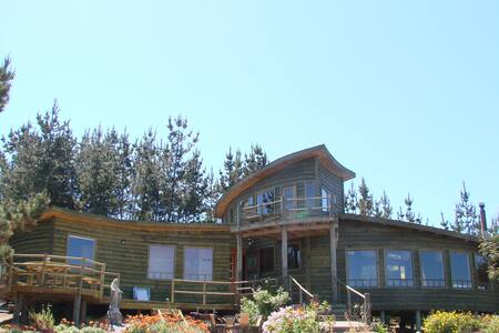 Beautiful House in Tunquén Ecologic - Tunquen