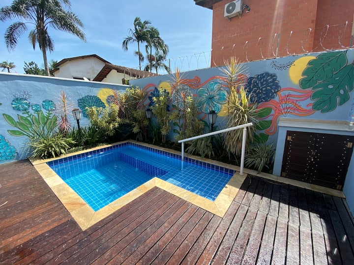 CASA CONDOMINIO EM JUQUEHY COM PISCINA PRIVATIVA