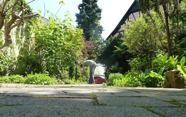 Calm and cosy appt - lovely garden - Turckheim - Apartemen