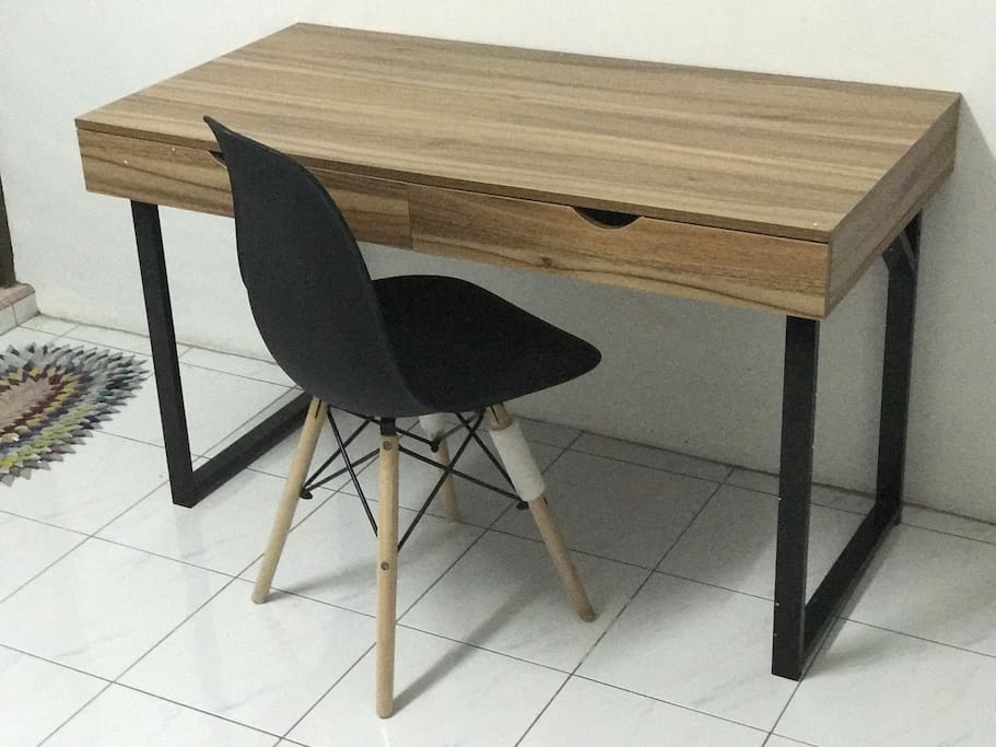 We provide working place in your master room .