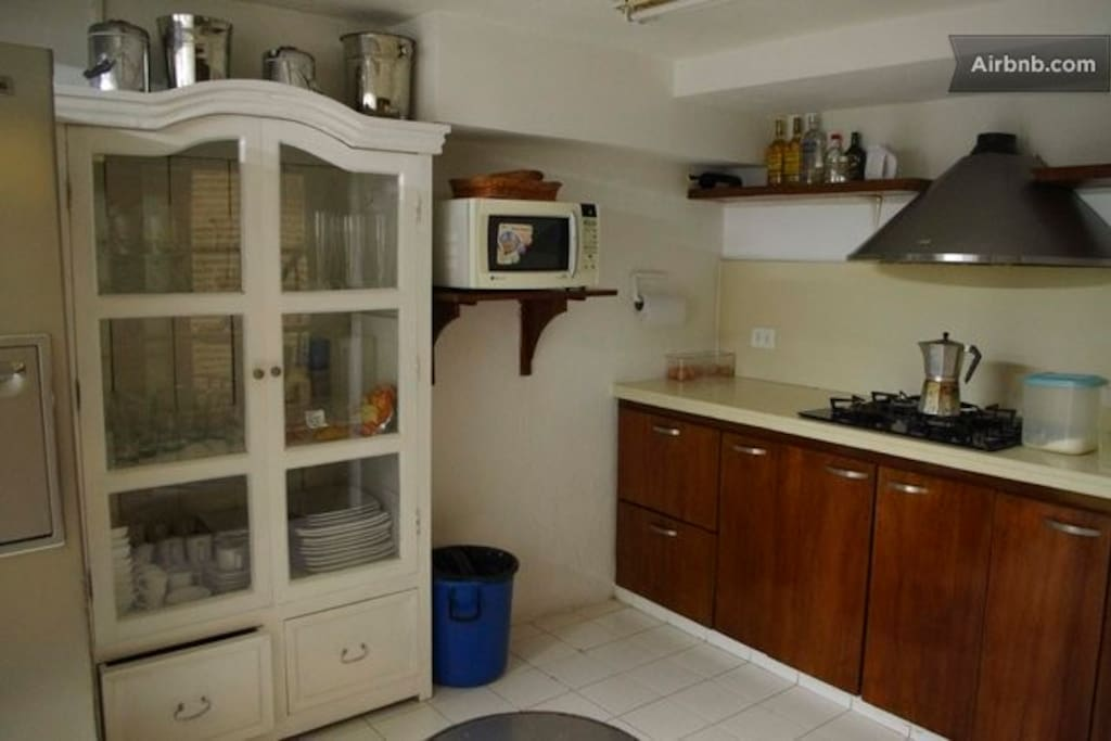 Kitchen area - available for all guests use