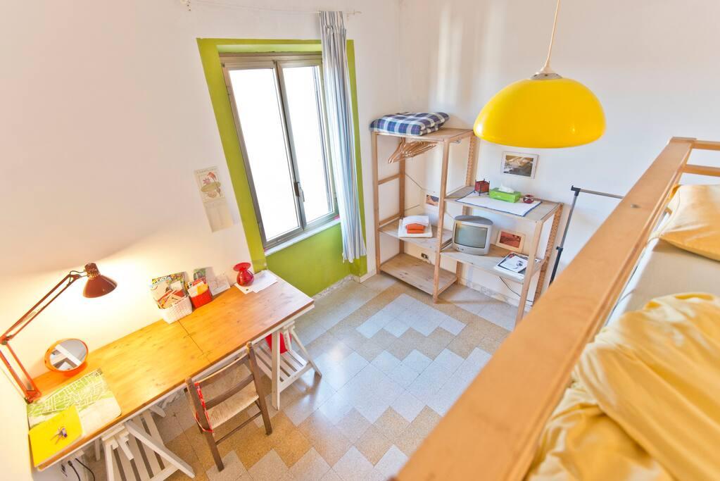 Roma torpignattara camera doppia appartamenti in affitto for Camera roma
