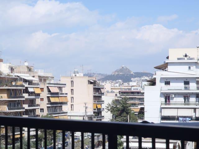 Athens View! Location for Families - Nea Smirni - Leilighet