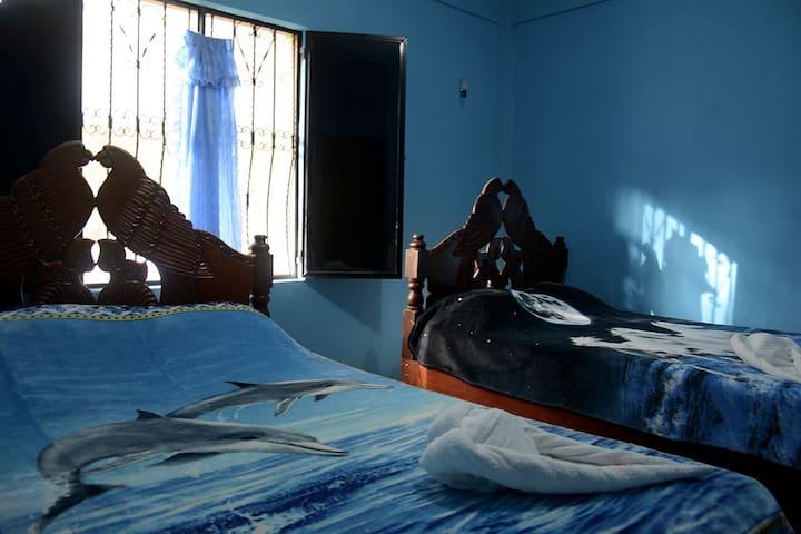 Casa cercana a Rio Lacantun Montes Azules .