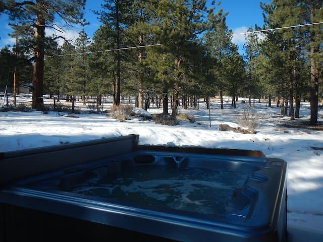 Large Cabin w/ Hot Tub - near RMNP
