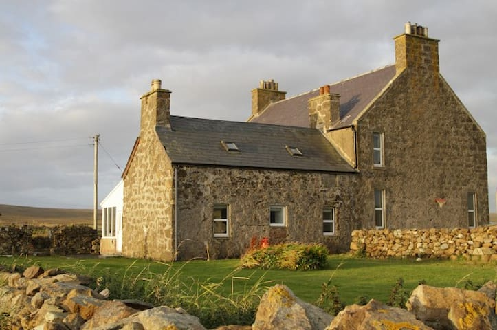 Cottage attached to family house. - Baltasound/Unst/Shetland