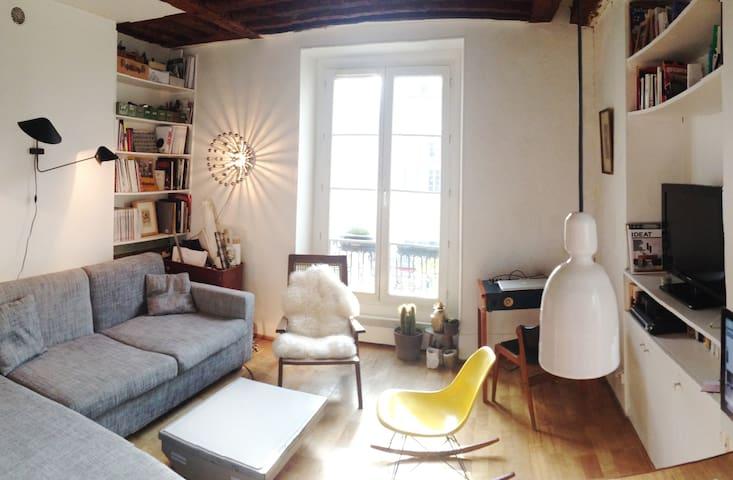 Charming flat/heart of Paris/Marais