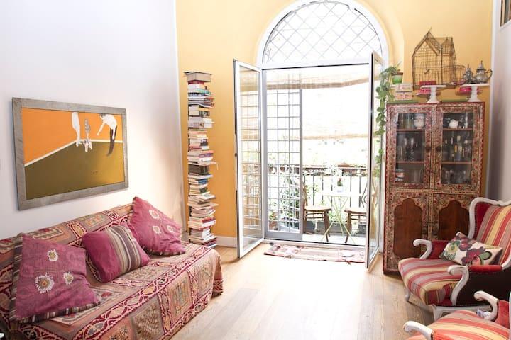 PONTE MILVIO CHARMING APARTMENT - Roma - Apartamento