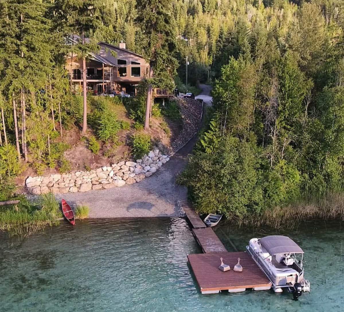 paddle inn cabin the okanagan bc