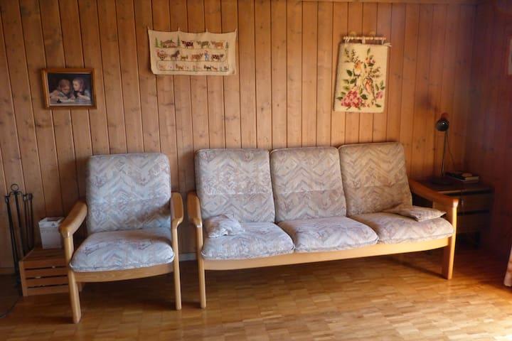 Sofa im Wohnzimmer