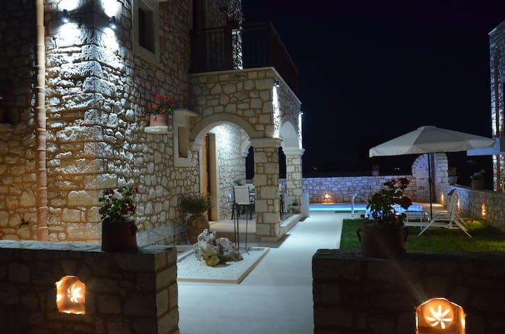 Luxury Villa Marvi in a charming Cretan village