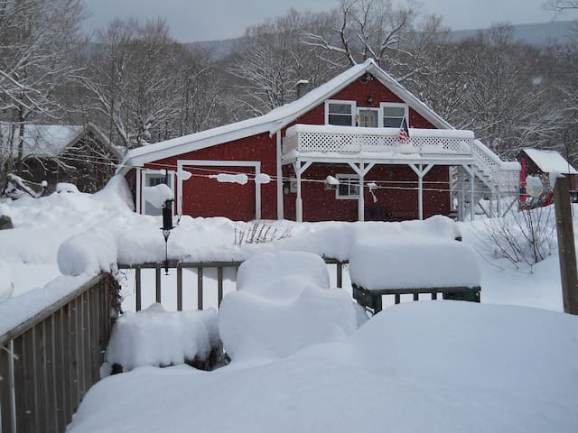 AFFORDABLE BARN RENTAL for your Winter Getaway! - Mt Tabor - Daire