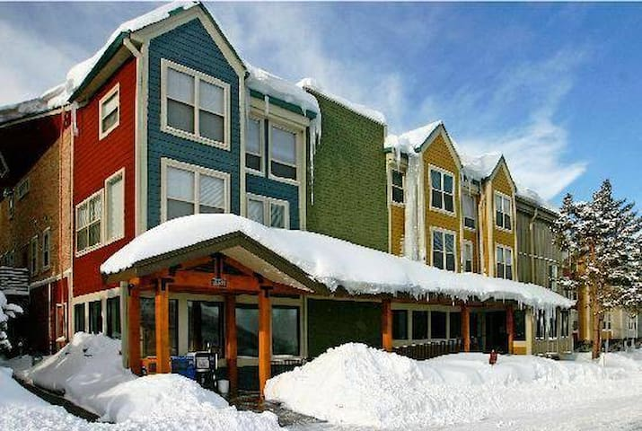 Cozy 2 floor condo in lodge steps from lift - Park City - Apartment