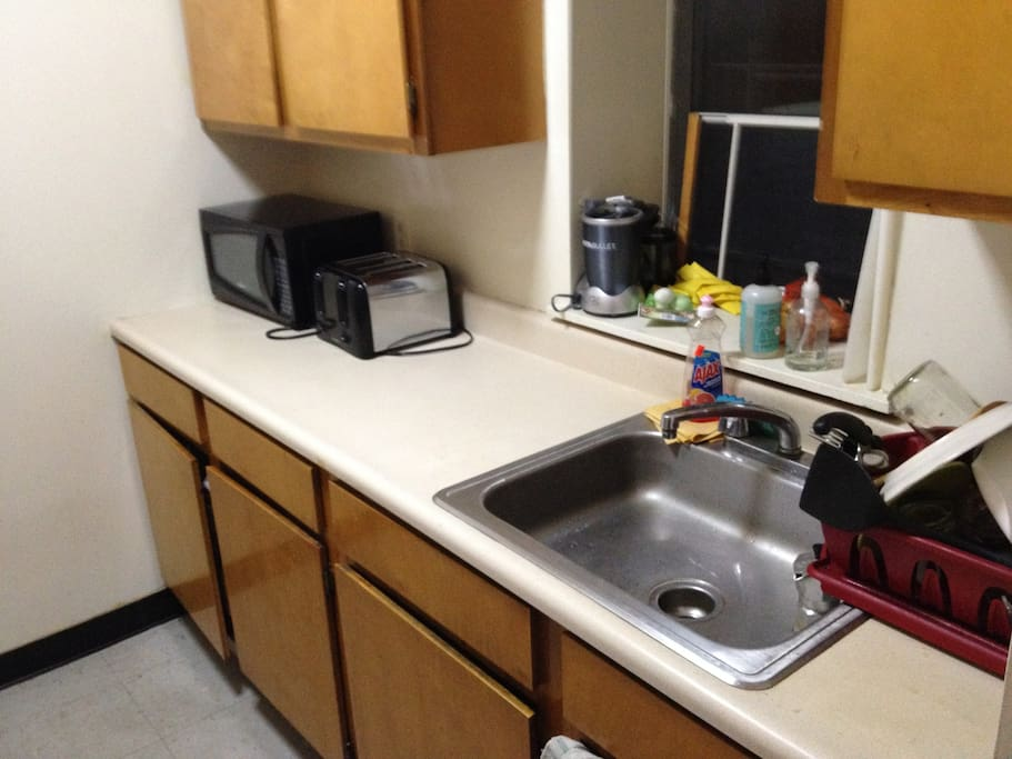 average sized kitchen w/ normal sized appliances