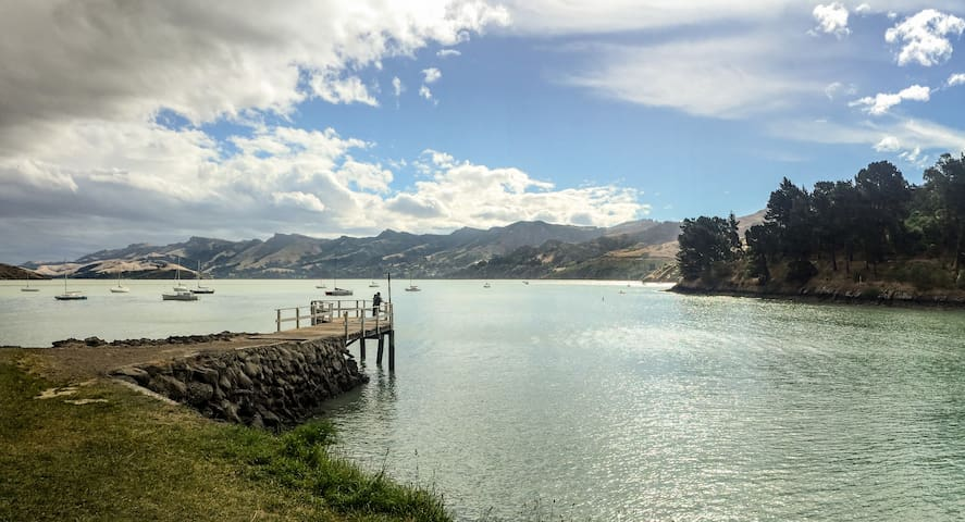 A relaxing stay with a view... - Lyttelton - Dom