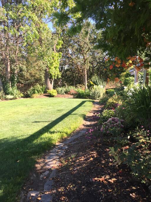 Large grassy lawn