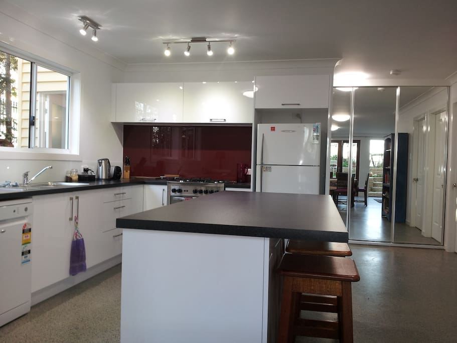 Ultra modern fully equipped kitchen