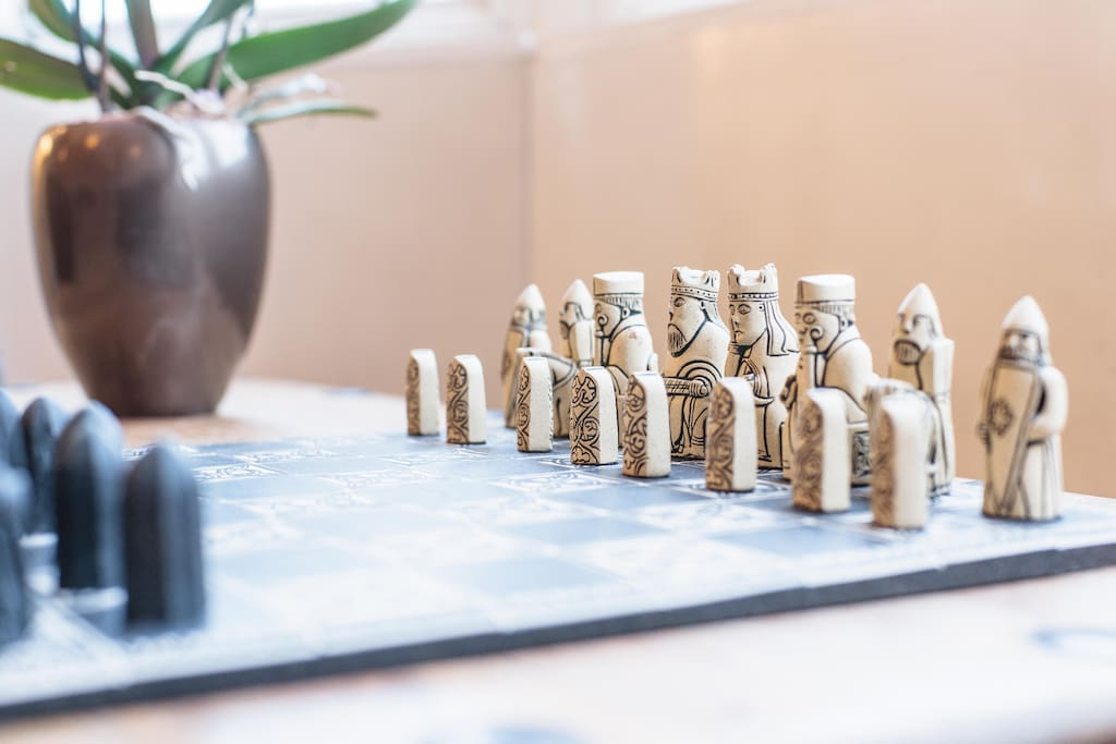 Our Lewis chess set!