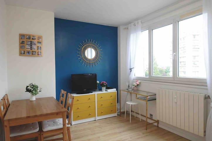 Cosy apartment 15min from Paris center