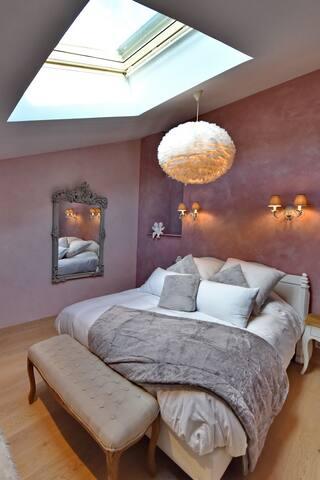 Jolie chambre romantique