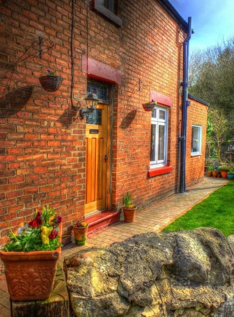 Country cottage by a stream. Seaham Seaglass area.