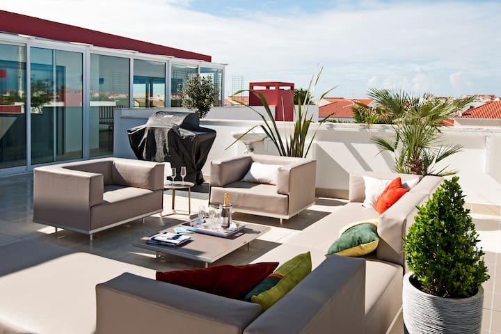 Bica 2, 3 bedroom penthouse w/ jacuzzi in Baleal - Baleal - Apartment