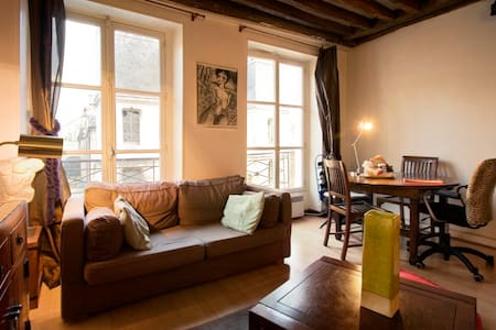 Paris Centre confortable 47m2 1ch - Paris - Apartment
