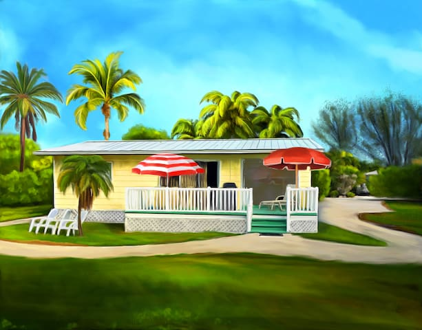 The Sunny Shell Basket Cottage - Sanibel - Talo