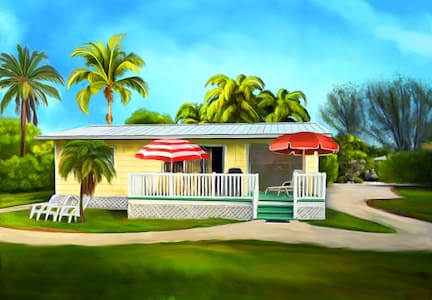 The Sunny Shell Basket Cottage - Sanibel - Huis