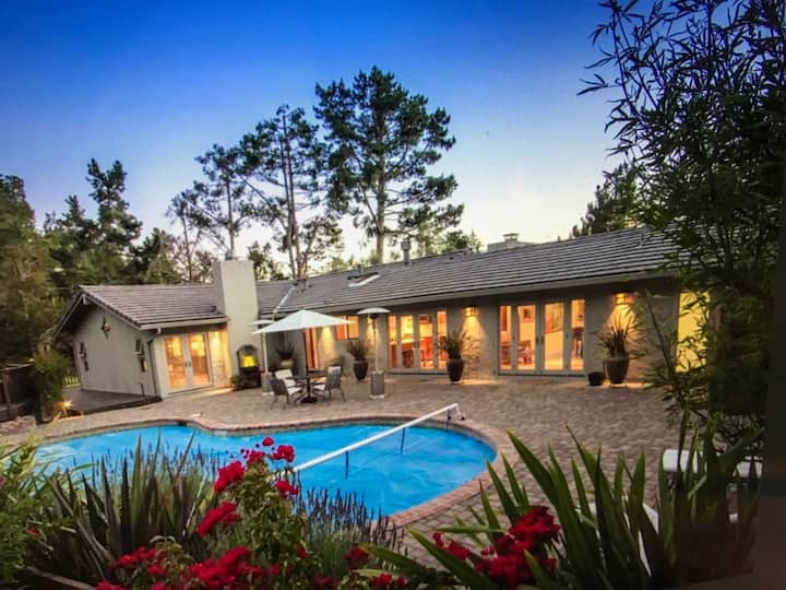 Mid-Carmel Valley Oasis in a Perfect Location