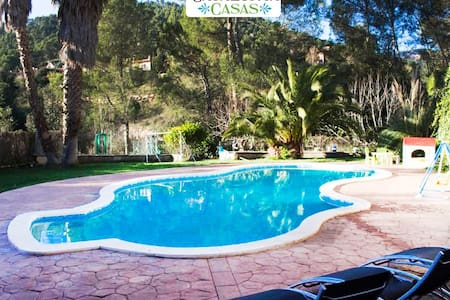Pleasant family villa in Matadepera, located right outside of Barcelona! - Barcelona Region