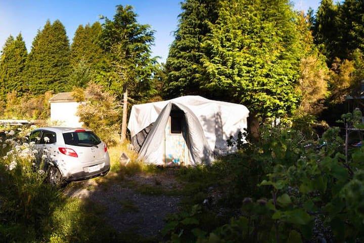 Cozy & Private Yurt on a farm : Whare Rua ! - Turangi - กระท่อม