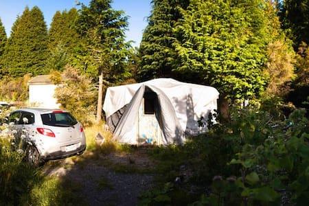 Cozy & Private Yurt on a farm : Whare Rua ! - Turangi - Barraca