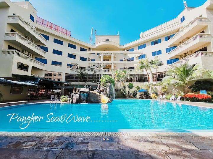 Sea & Wave #1 Pangkor Coral Bay 3 room  Apartment