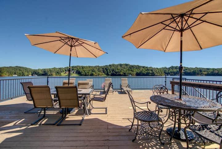 Lake Lanier, GA-pool, lake, hot tub, fishing